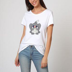 Camiseta con oso bordado