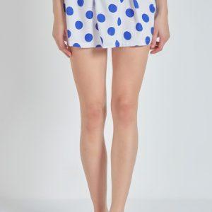 Falda de lunares